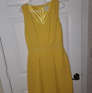 Yellow world dress